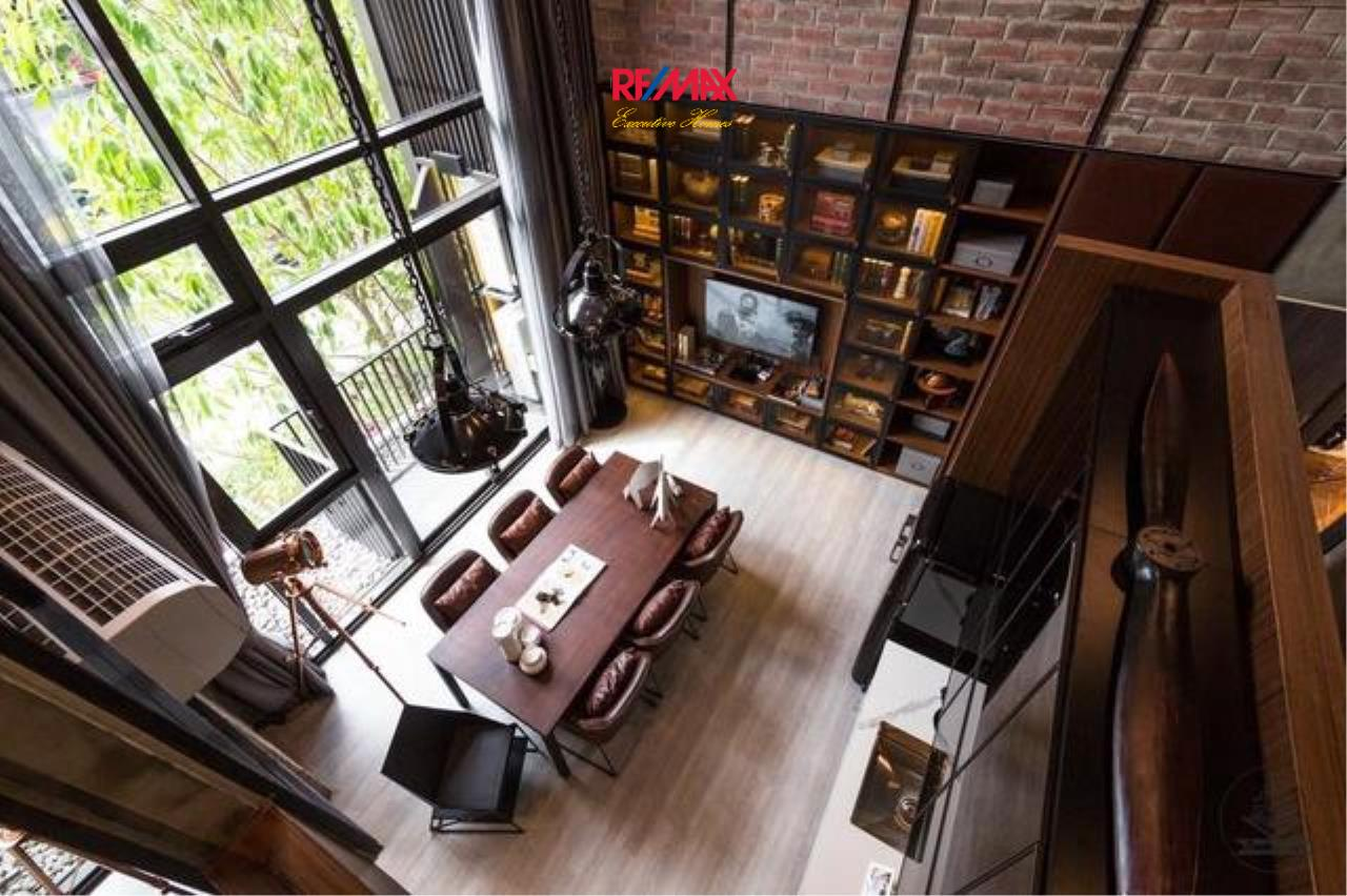 RE/MAX Executive Homes Agency's Stunning 1 Bedroom Duplex for Rent The Line Sukhumvit 101 2