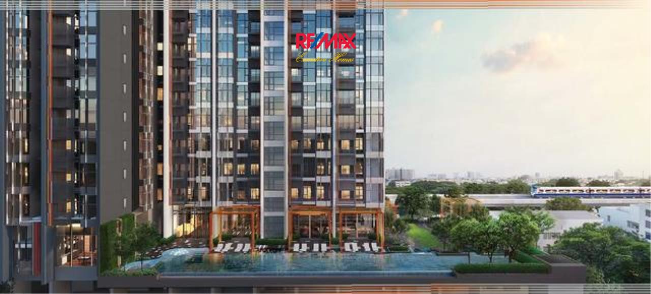 RE/MAX Executive Homes Agency's Stunning 1 Bedroom Duplex for Rent The Line Sukhumvit 101 3