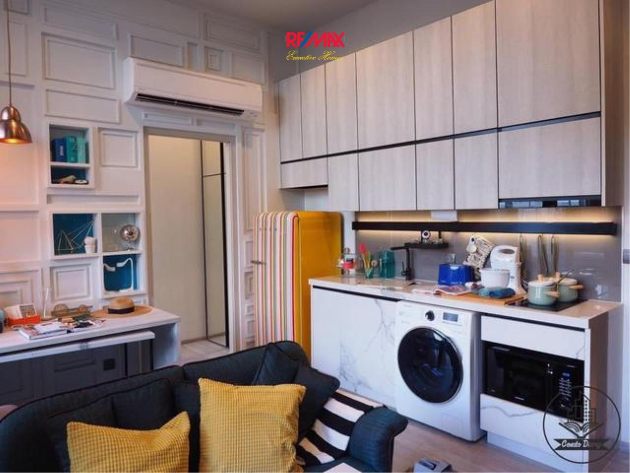 RE/MAX Executive Homes Agency's Stunning 1 Bedroom Duplex for Rent The Line Sukhumvit 101 1