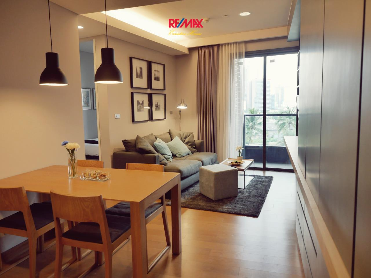 RE/MAX Executive Homes Agency's Stunning 2 Bedroom for Rent Lumpini 24 7