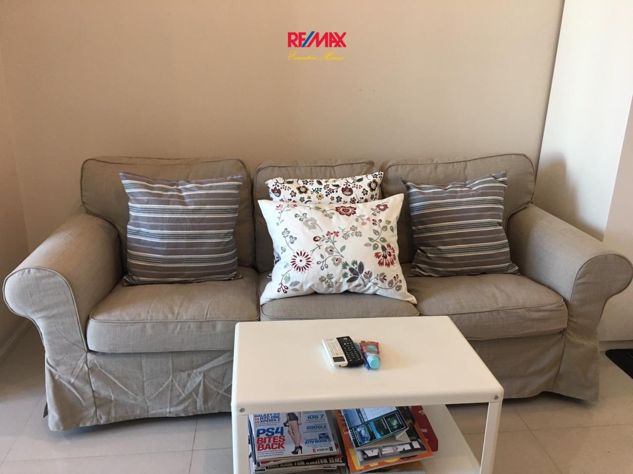 RE/MAX Executive Homes Agency's Beautiful 1 Bedroom for Rent Villa Asoke 1