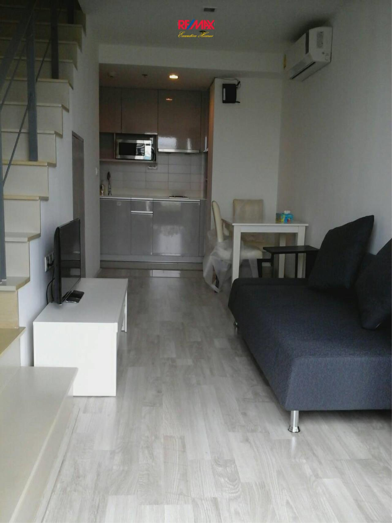 RE/MAX Executive Homes Agency's Nice 1 Bedroom Duplex for Rent Ideo Mobi Sukhumvit 5