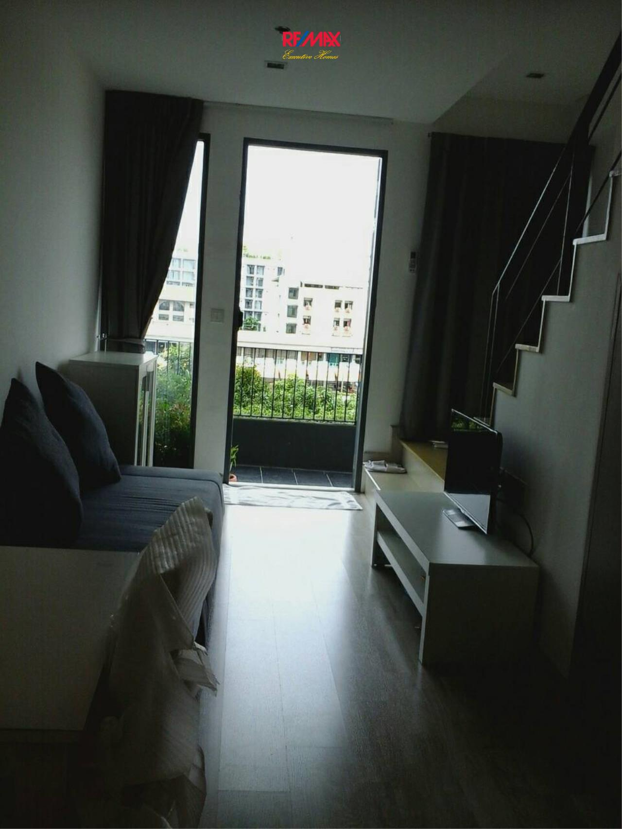 RE/MAX Executive Homes Agency's Nice 1 Bedroom Duplex for Rent Ideo Mobi Sukhumvit 6