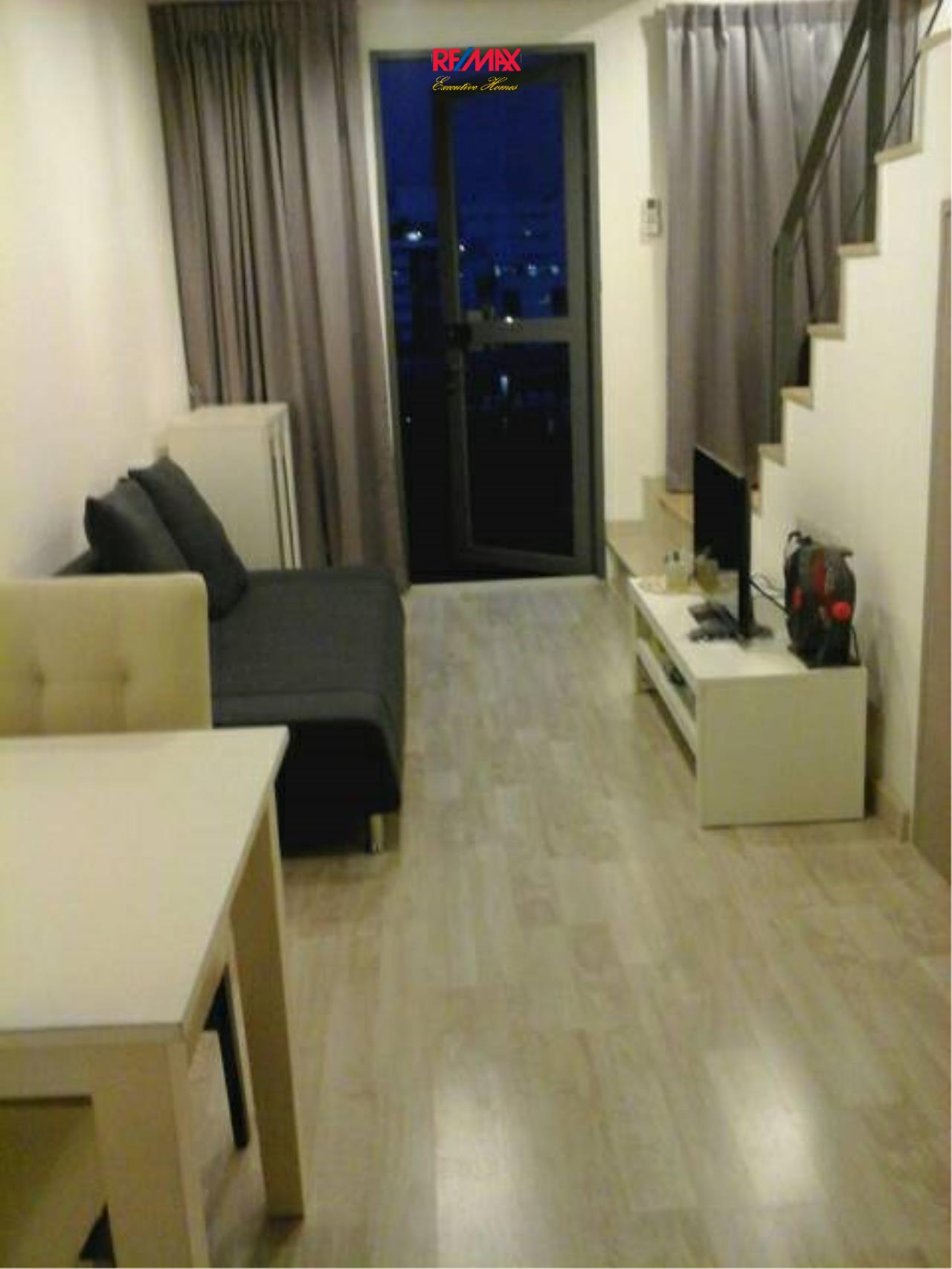 RE/MAX Executive Homes Agency's Nice 1 Bedroom Duplex for Rent Ideo Mobi Sukhumvit 8