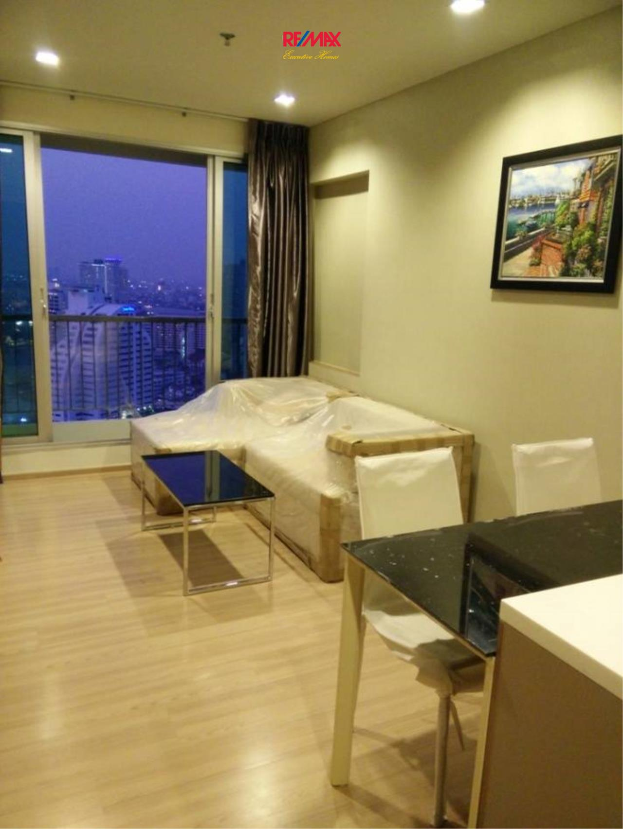 RE/MAX Executive Homes Agency's Nice 1 Bedroom for Rent  and Sale Rhythm Sathorn 1