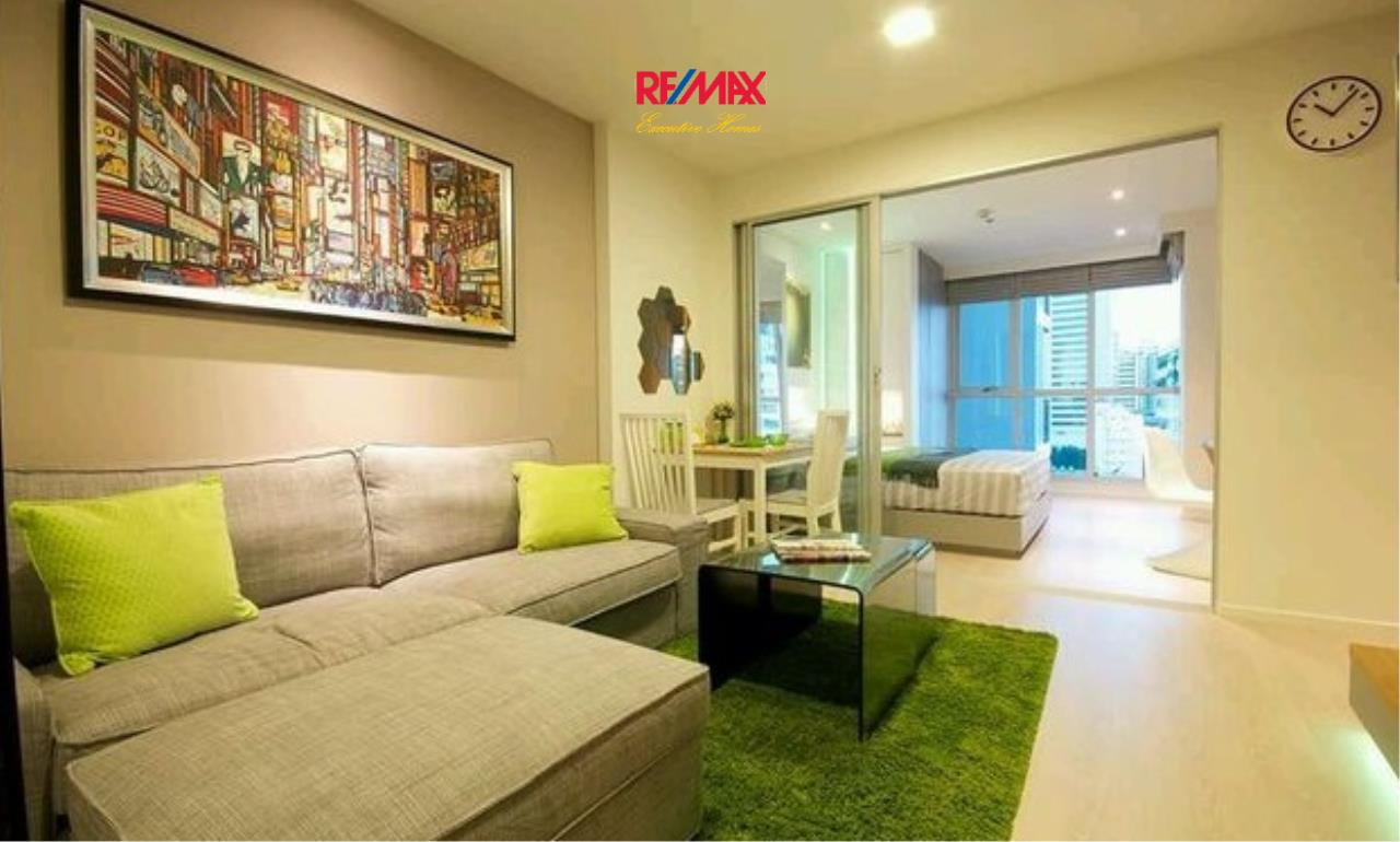 RE/MAX Executive Homes Agency's Beautiful 1 Bedroom for Sale Rhythm Sathorn Narathiwas 1