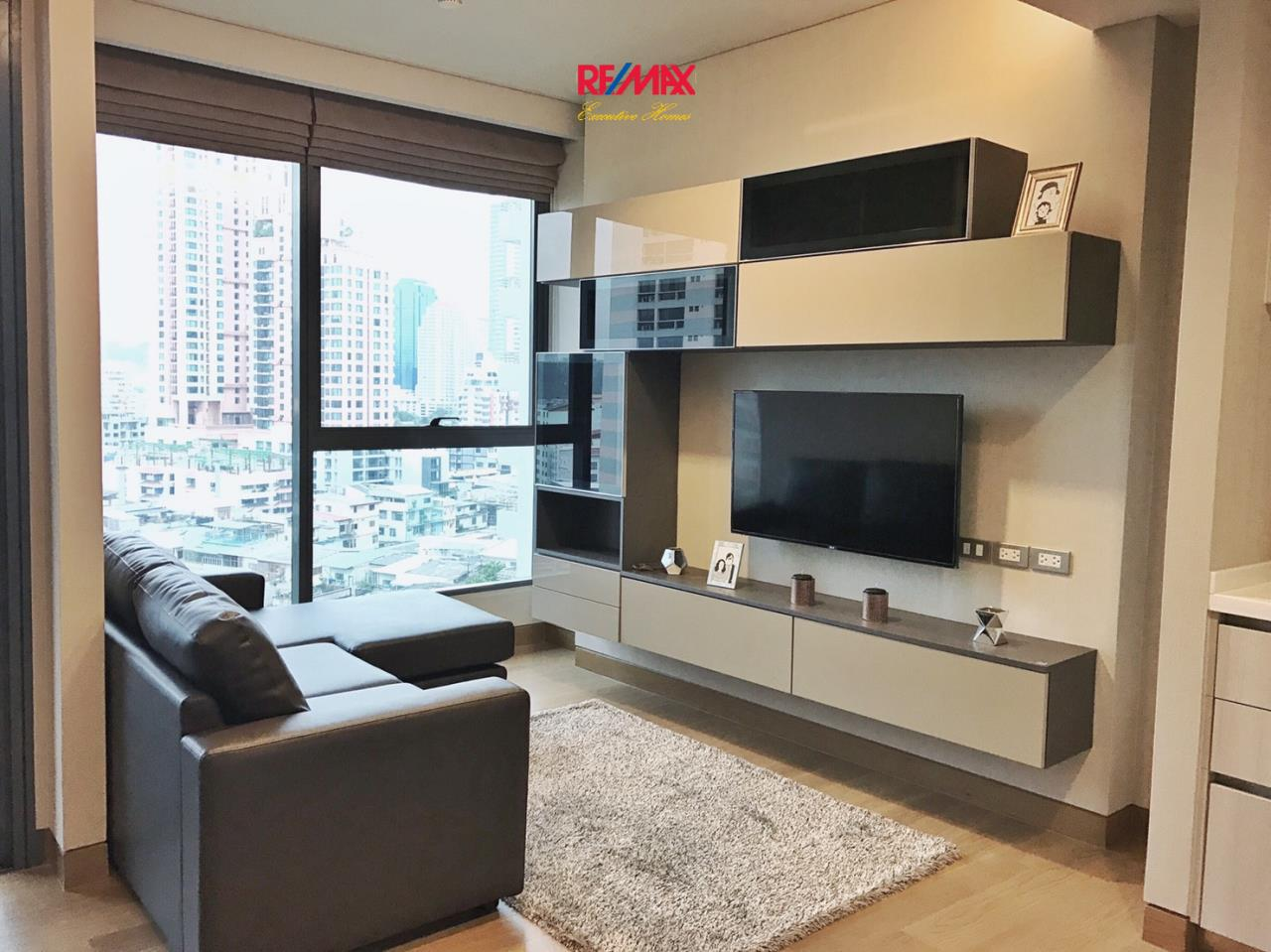 RE/MAX Executive Homes Agency's Beautiful 1 Bedroom for Rent Lumpini 24 1