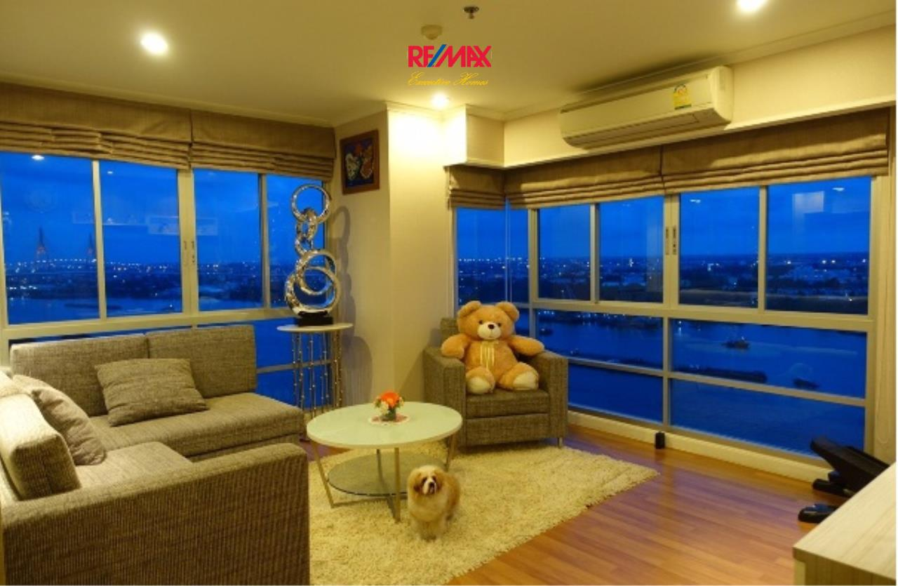 RE/MAX Executive Homes Agency's Spacious 3 Bedroom for Rent Lumpini Park Riverside Rama 3 2