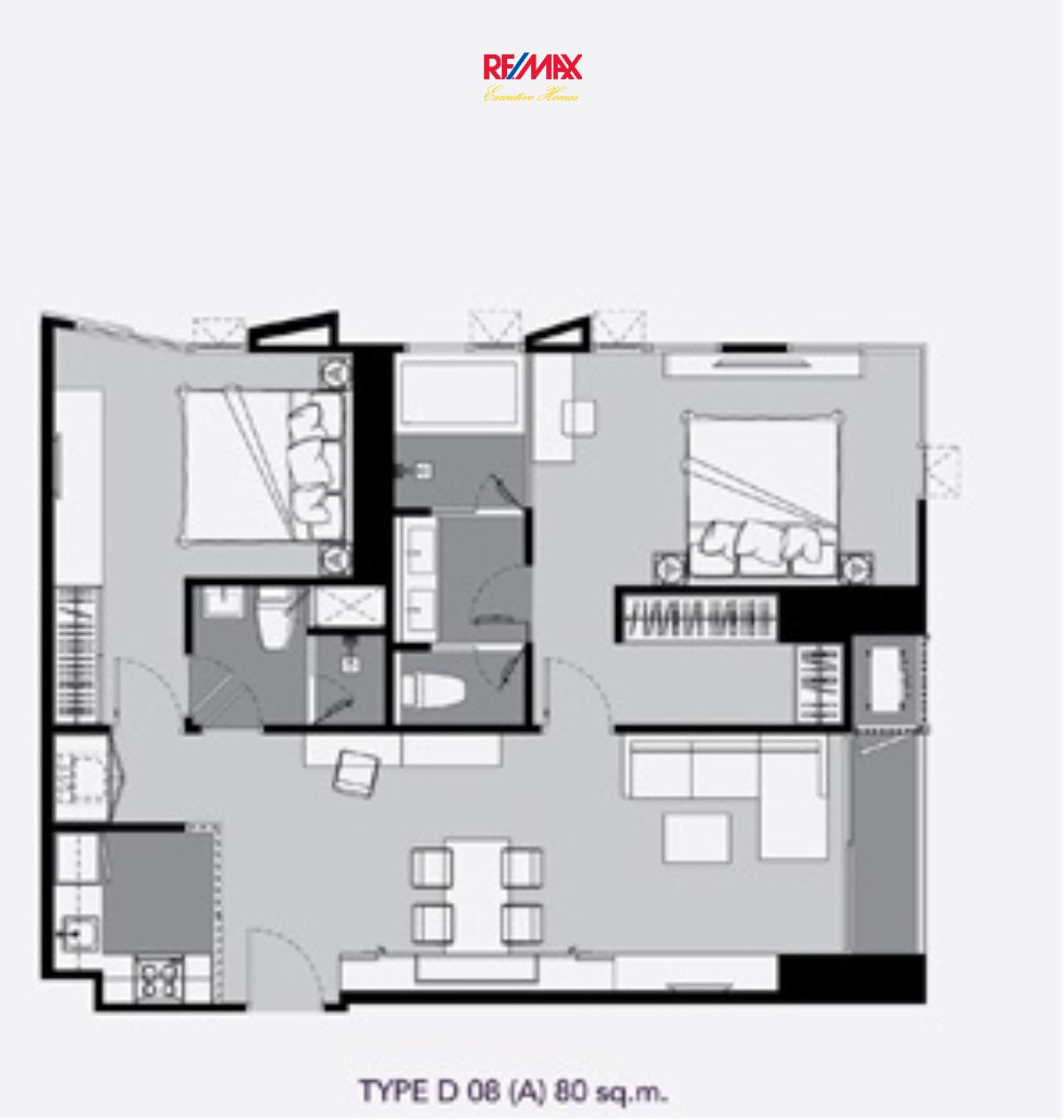 RE/MAX Executive Homes Agency's Brand New 2 Bedroom for Sale Rhythm Ekkamai 2