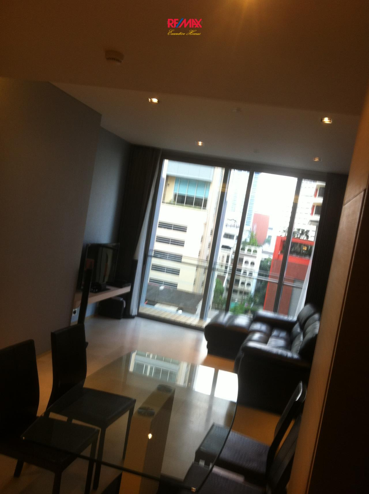 RE/MAX Executive Homes Agency's Spacious 1 Bedroom for Rent Saladaeng Residences 1