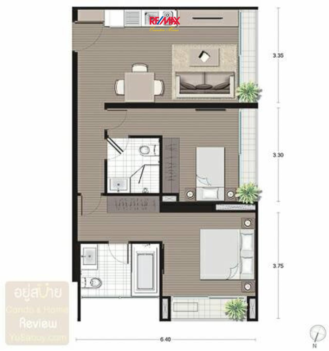 RE/MAX Executive Homes Agency's Nice 2 Bedroom for Sale Noble Revo Silom 6