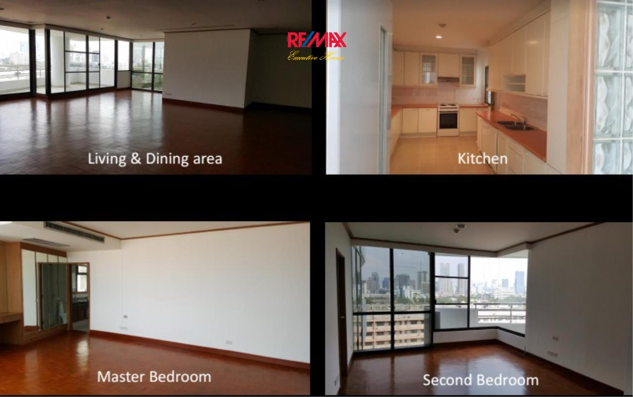 RE/MAX Executive Homes Agency's Spacious 2 Bedroom for Rent Baan Yanakart 1