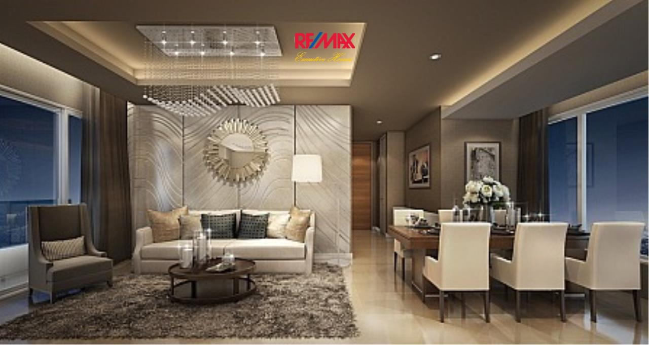 RE/MAX Executive Homes Agency's Spacious 3 Bedroom for Rent Menam Residence 3