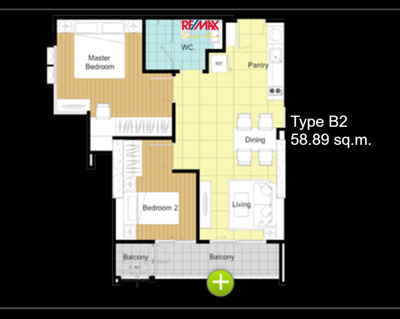 RE/MAX Executive Homes Agency's **REDUCED** 2 BEDROOM FOR SALE THE BLOOM 71- HIGH FLOOR 2