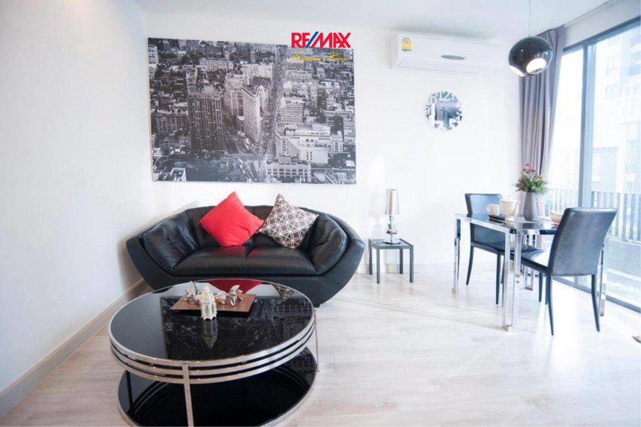 RE/MAX Executive Homes Agency's Nice 2 Bedroom Duplex for Sale with Tenant Ideo Mobi Sukhumvit 3