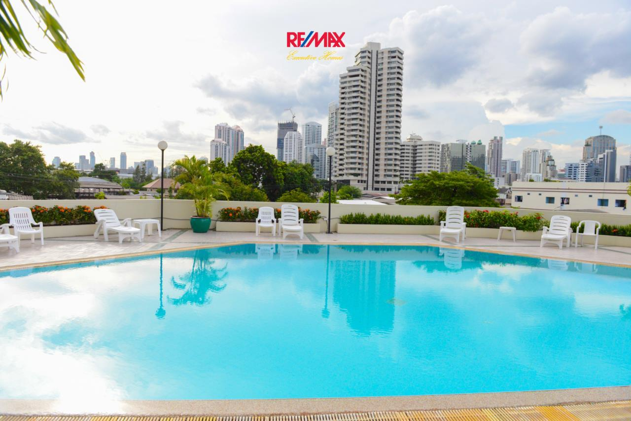 RE/MAX Executive Homes Agency's Lovely Studio type Bedroom for Rent Baan Sukhumvit 36 3