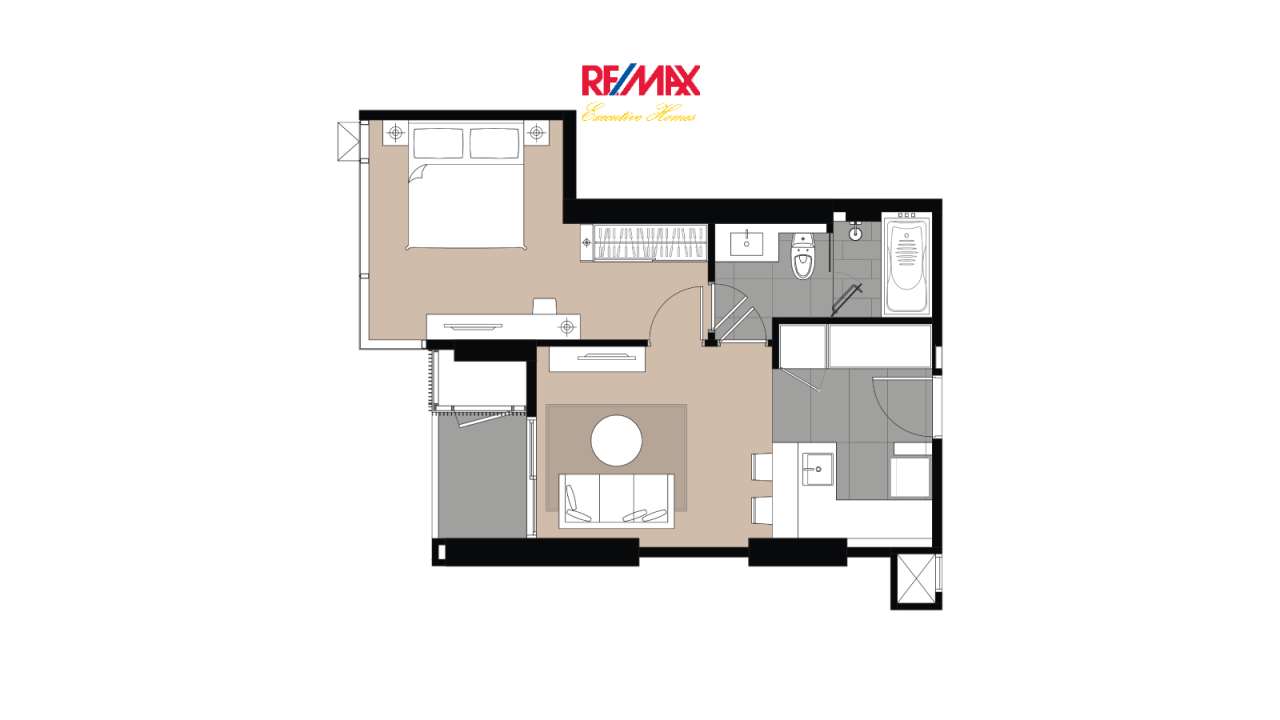 RE/MAX Executive Homes Agency's Off Plan 1 Bedroom for Sale Laviq 57 3