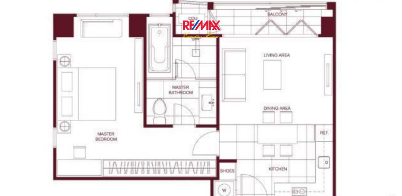RE/MAX Executive Homes Agency's Off Plan 1 Bedroom for Sale The Monument 3