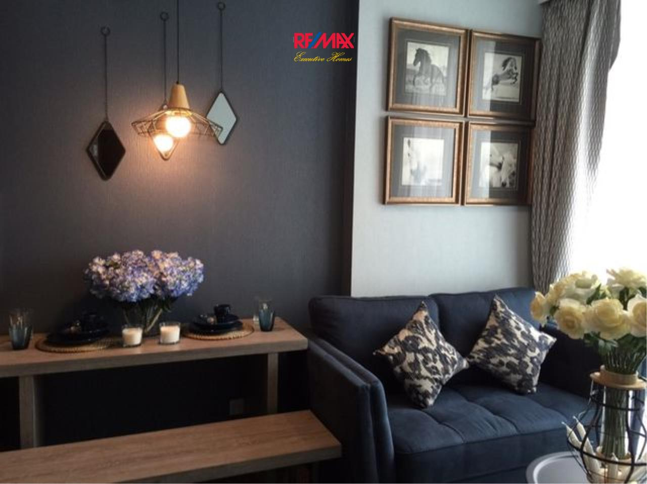 RE/MAX Executive Homes Agency's Stunning 1 Bedroom for Rent Edge Sukhumvit 23 3