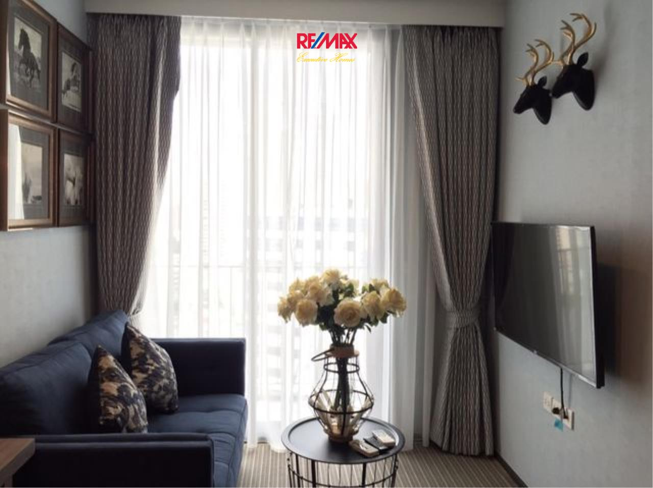 RE/MAX Executive Homes Agency's Stunning 1 Bedroom for Rent Edge Sukhumvit 23 1