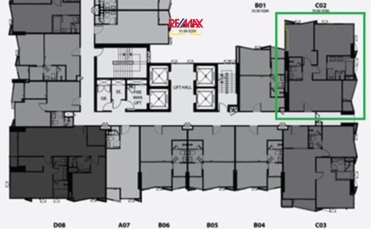 RE/MAX Executive Homes Agency's Off Plan 2 Bedroom for Sale Rhythm Ekamai 3
