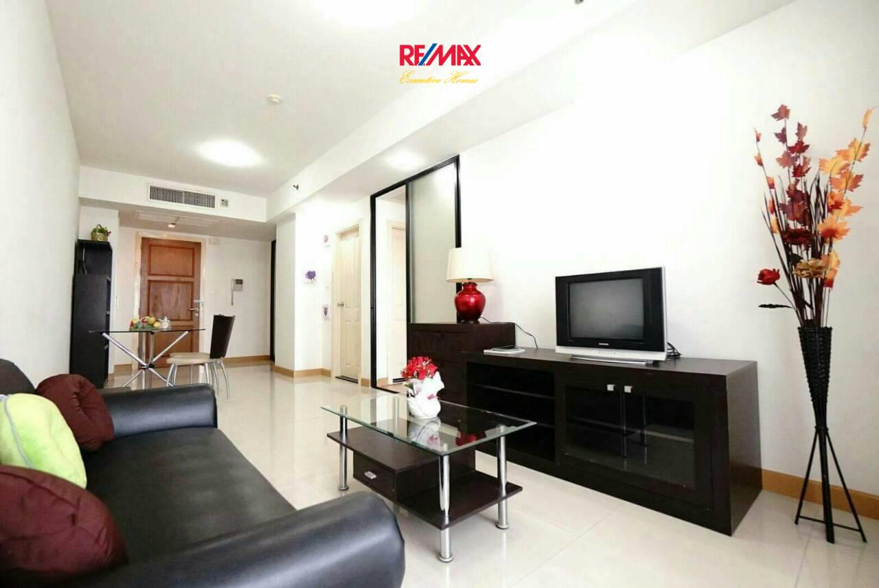 RE/MAX Executive Homes Agency's Spacious 1 Bedroom for Rent Supalai Premier Place Asoke 1