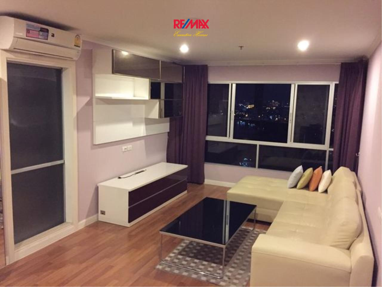 RE/MAX Executive Homes Agency's Cozy 2 Bedroom for Sale Lumpini Park Riverside Rama 3 1