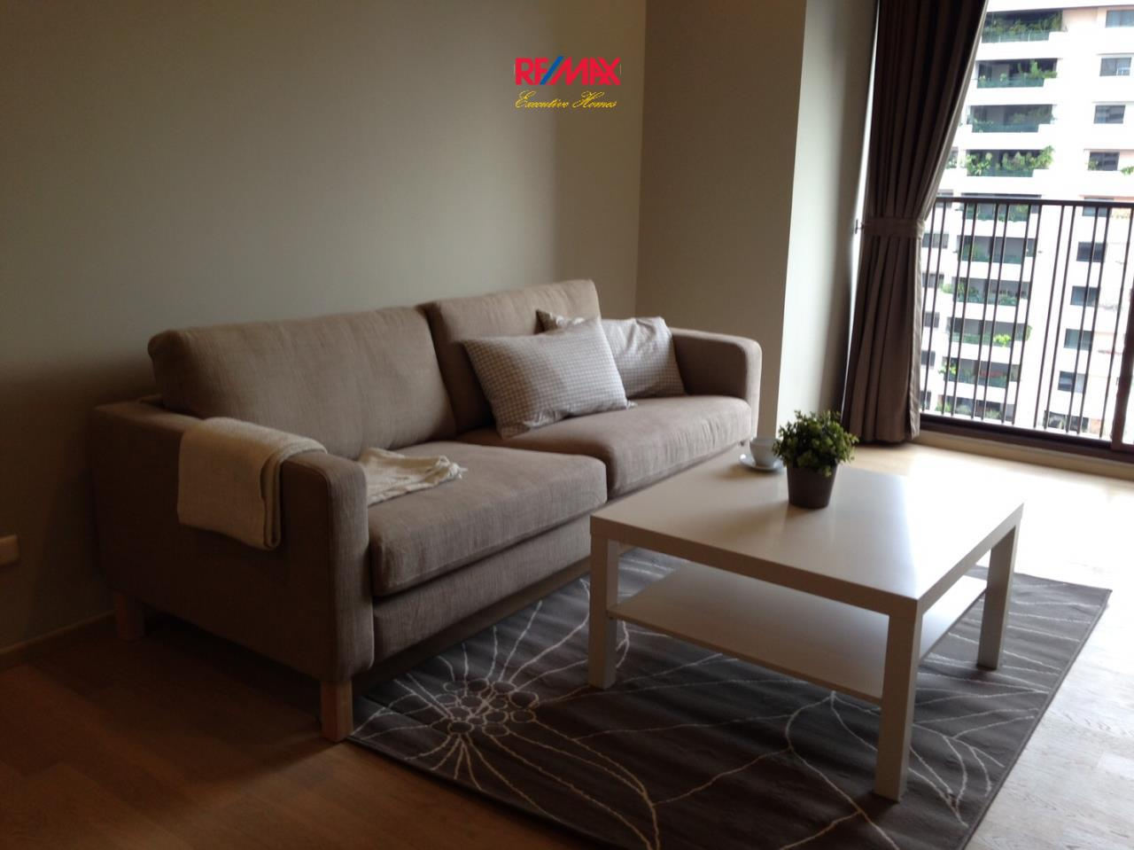 RE/MAX Executive Homes Agency's Spacious 1 Bedroom for Rent Noble Refine 1