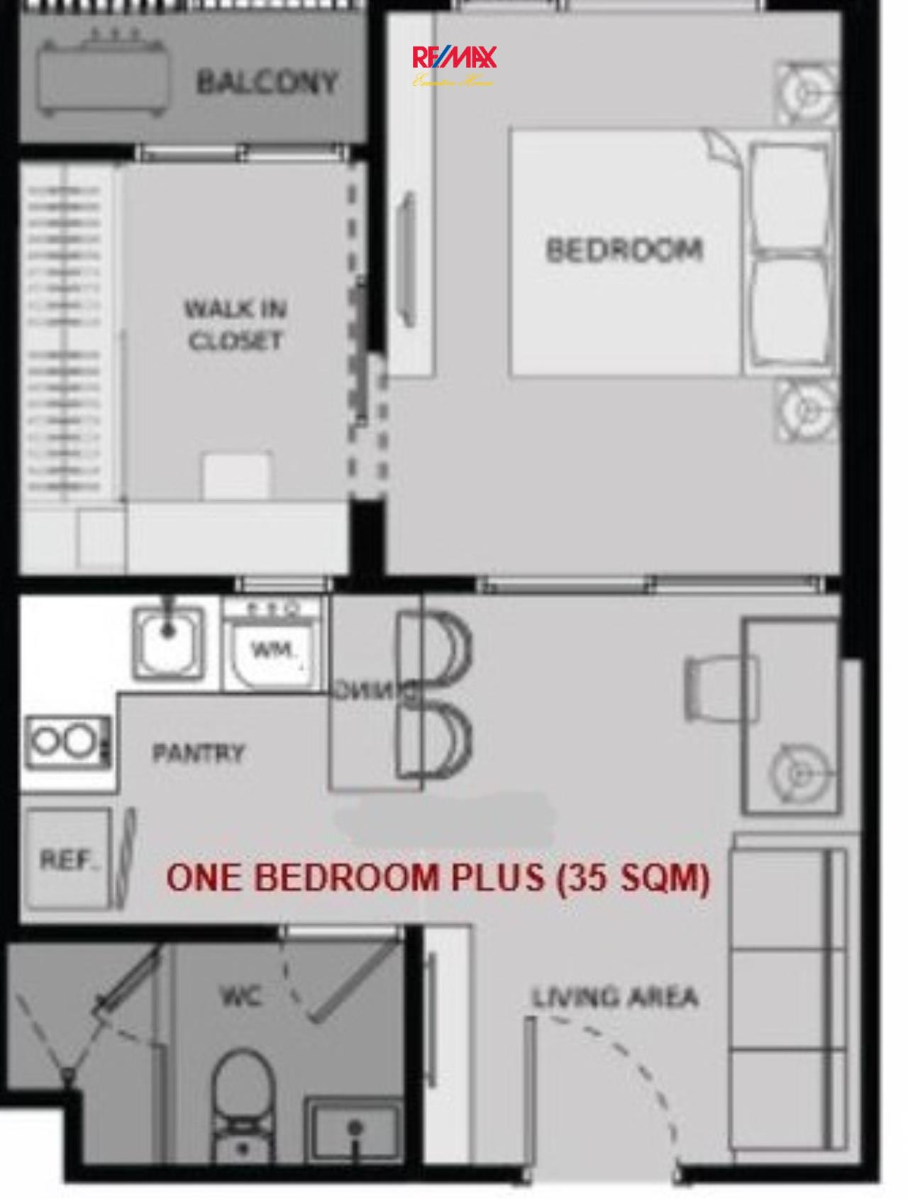 RE/MAX Executive Homes Agency's Off Plan 1 Bedroom for Sale Life Asoke 2