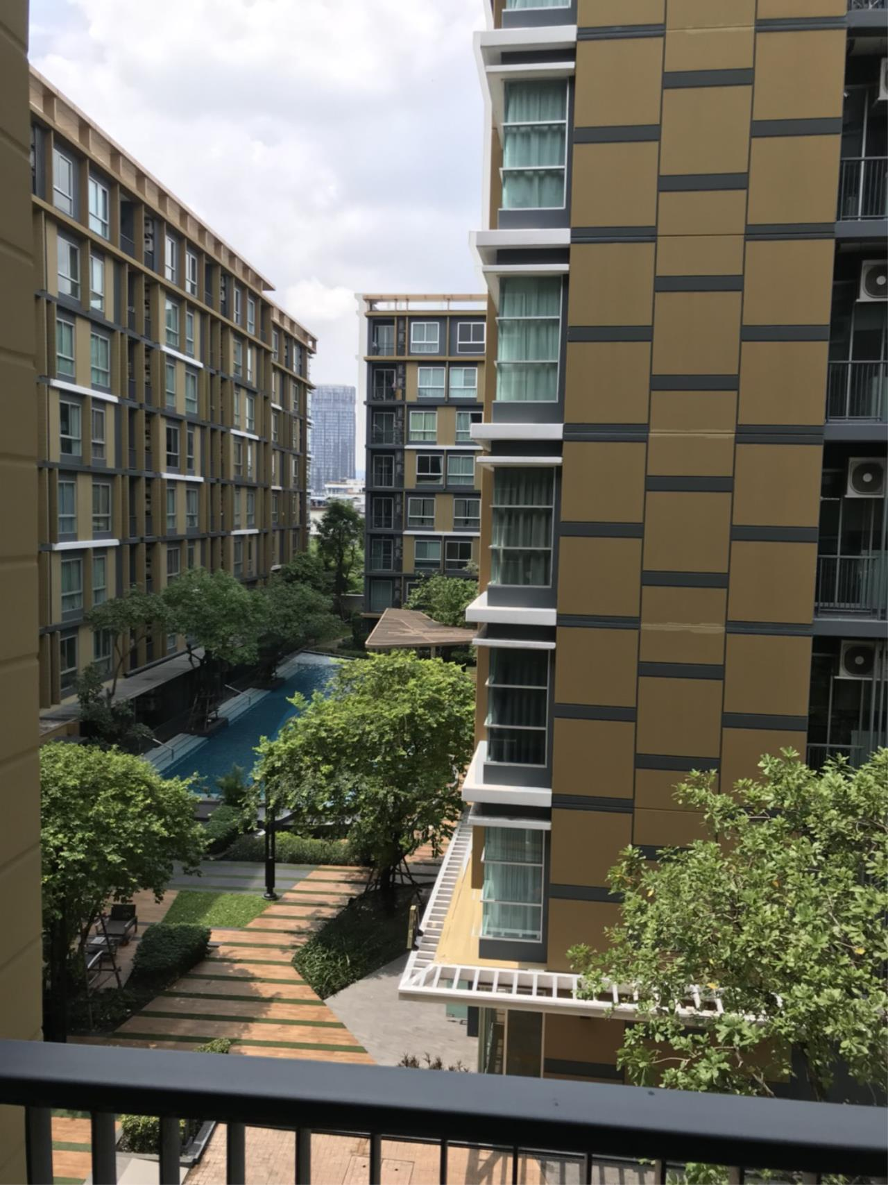 Quality Life Property Agency's S A L E !! || Metro Luxe Rama 4 || 1BR 33 Sq.m. Pool View 7