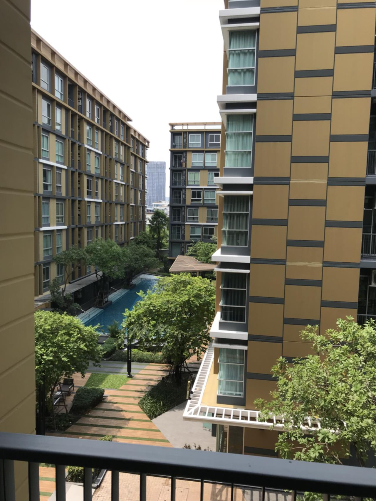 Quality Life Property Agency's S A L E !! || Metro Luxe Rama 4 || 1BR 33 Sq.m. Pool View 8