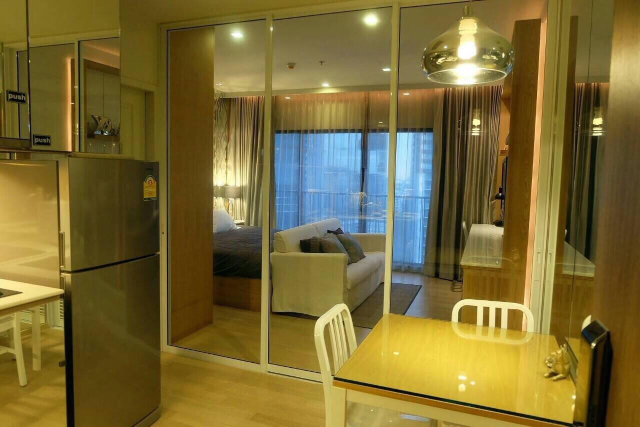 Quality Life Property Agency's S A L E !! || NOBLE REFINE || Studio, High floor, Pool View  3