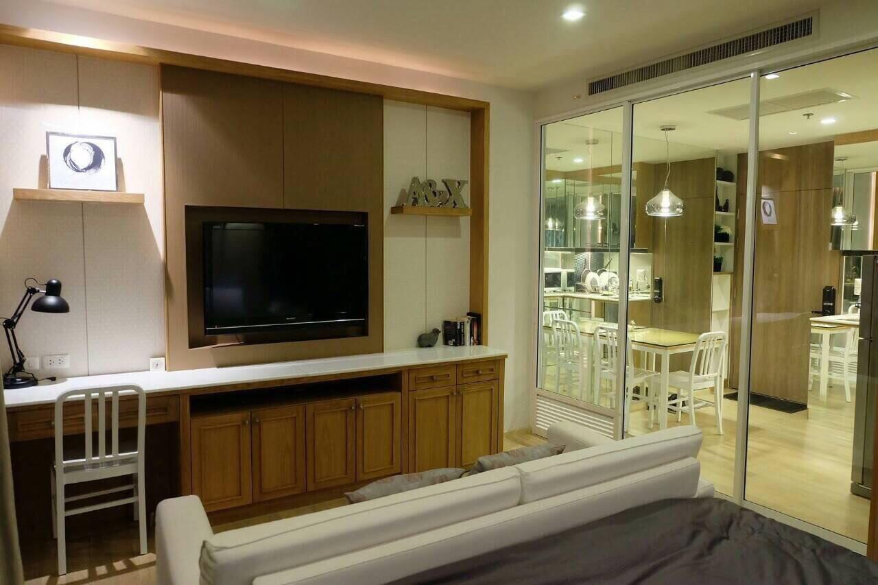 Quality Life Property Agency's S A L E !! || NOBLE REFINE || Studio, High floor, Pool View  5
