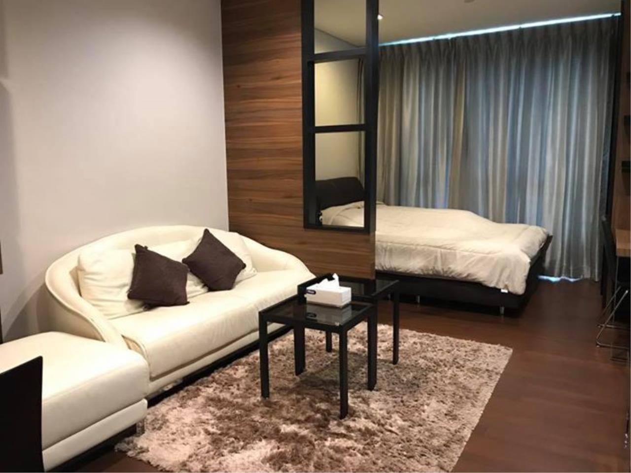 Quality Life Property Agency's S A L E & R E N T !! [ IVY THONGLOR ] Studio 35.63 Sq.m. New Decoration !! 1
