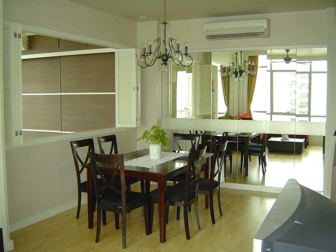 Quality Life Property Agency's For Rent Condo Baan Chao Praya Sathorn 1 Bedroom 1 Bath High Floor Top View 3