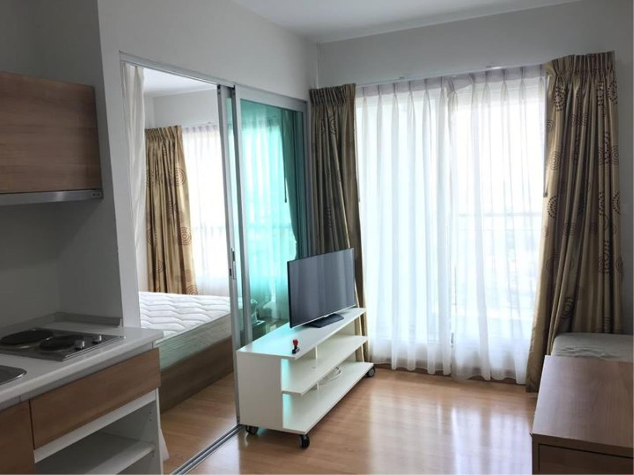Quality Life Property Agency's S A L E !! ASPIRE RAMA 4 || 1BR 28 Sq.m., High Floor, River view 3