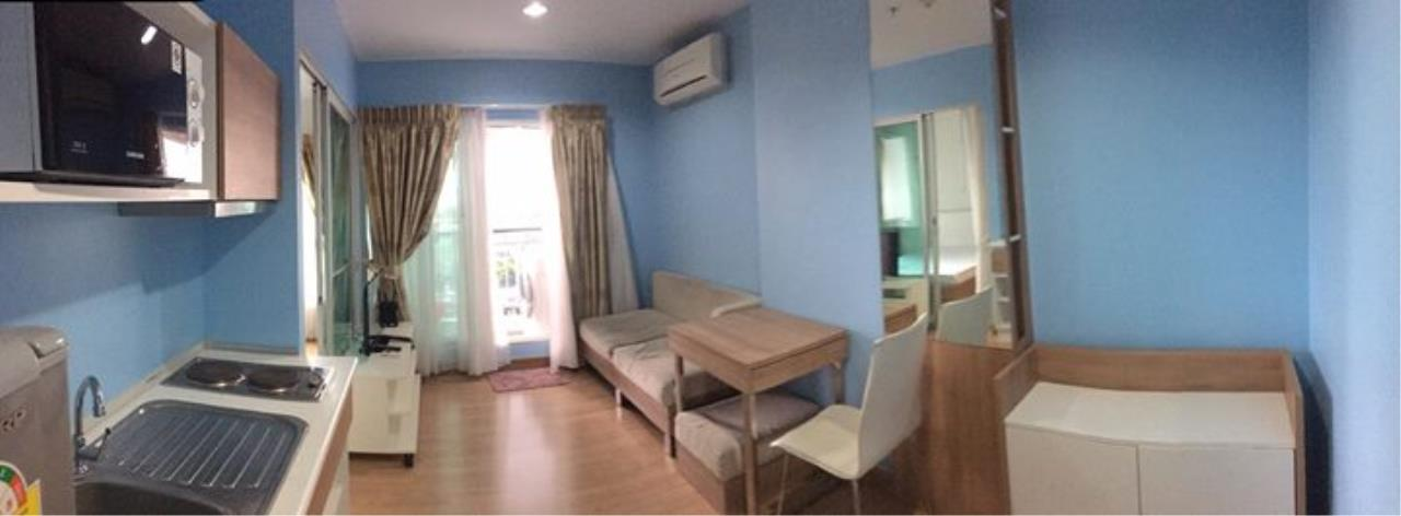 Quality Life Property Agency's S A L E !! ASPIRE RAMA 4 1BR 28 SQ.M. HIGH FLOOR, RIVER VIEW 2