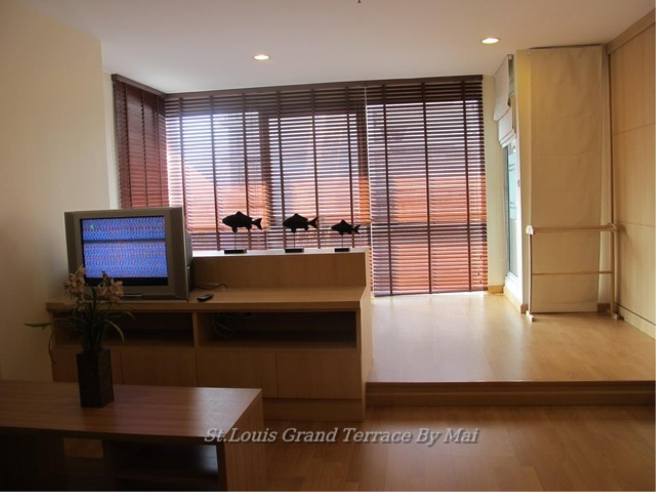 Quality Life Property Agency's For Rent Condo At St. Louis Grand Terrace 1 Bedroom 1 | 17 Floor 18, 000 THB / MONTH 1