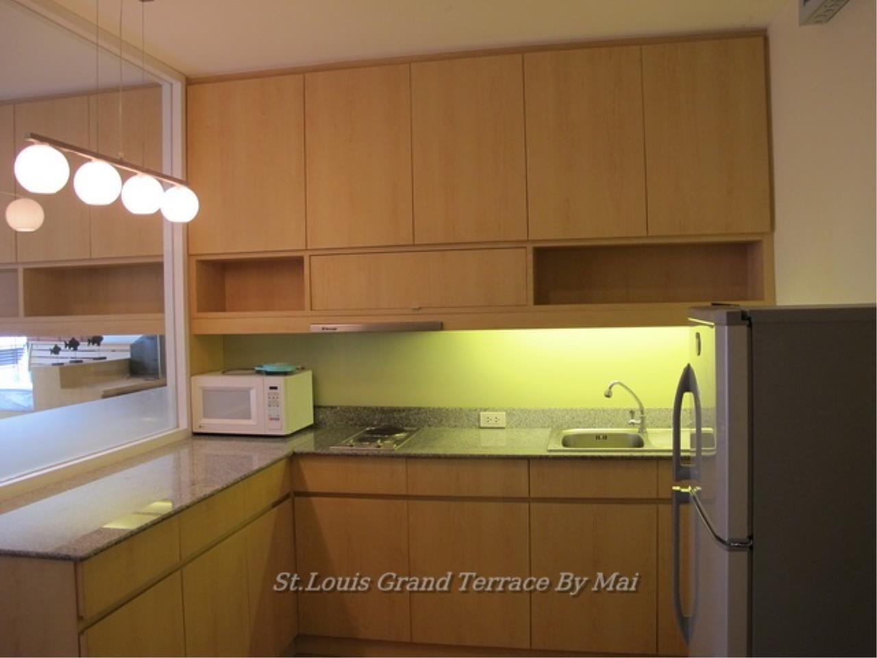 Quality Life Property Agency's For Rent Condo At St. Louis Grand Terrace 1 Bedroom 1 | 17 Floor 18, 000 THB / MONTH 6