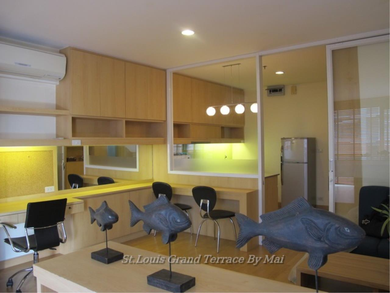 Quality Life Property Agency's For Rent Condo At St. Louis Grand Terrace 1 Bedroom 1 | 17 Floor 18, 000 THB / MONTH 5
