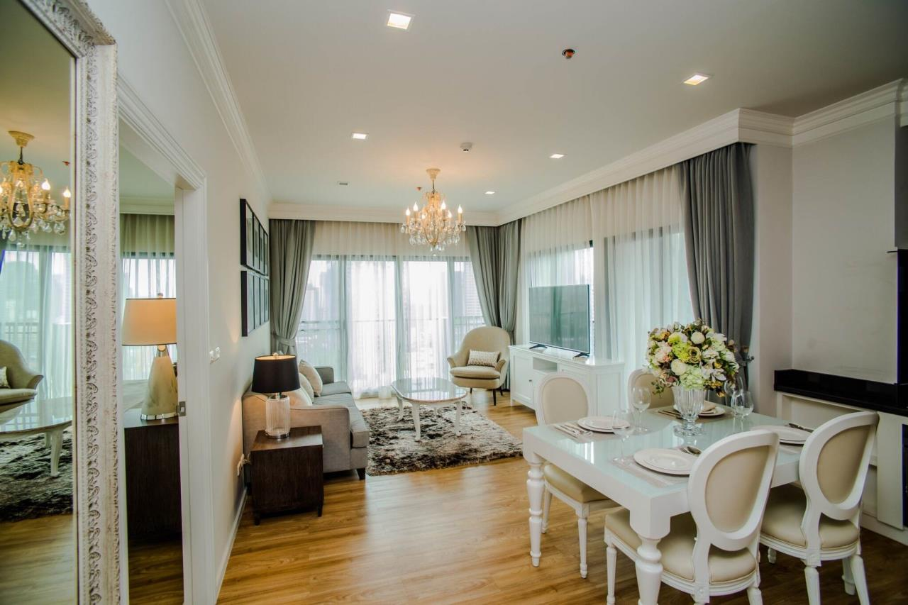 Quality Life Property Agency's S A L E & R E N T !! << NOBLE REVEAL >> 2BR 87 SQ.M. HIGH FLOOR, FACING 3 SIDES 1