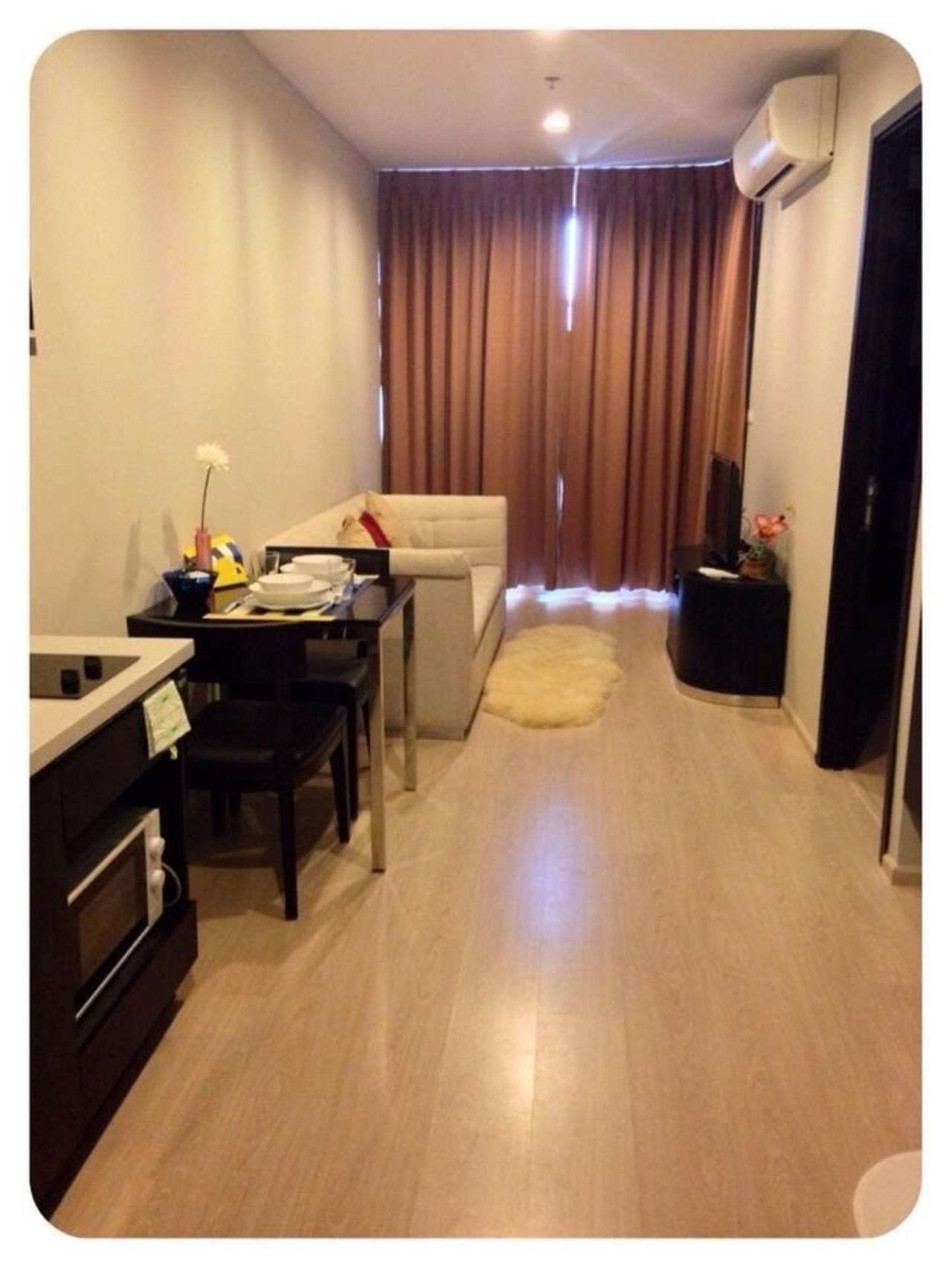 Quality Life Property Agency's S A L E  WITH TENANT!! < RHYTHM SUKHUMVIT 44/1 > 1BR 35 SQ.M.  1