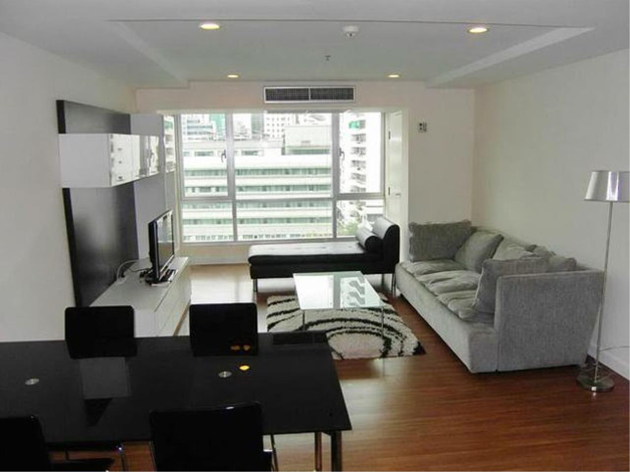 Quality Life Property Agency's **** For Rent*******  At The Trendy Condominium , Wide Area, Facing East , Floor 1x , Fully Furnished Ready To Move In 1