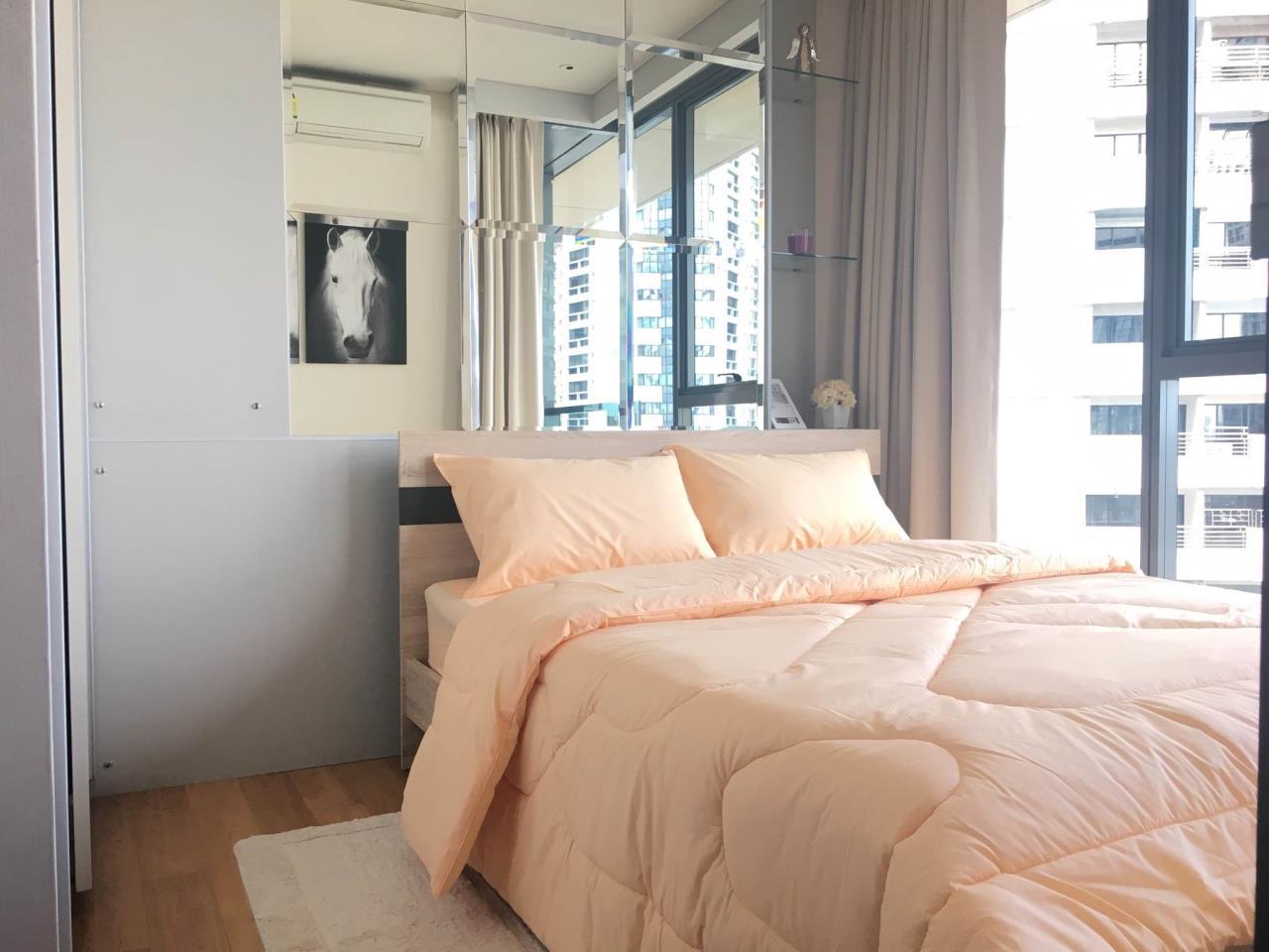 Quality Life Property Agency's S A L E & R E N T !! [ THE LUMPINI 24 ] 1 BR 26.22 Sq.m. Amazing View & Nice Decoration !! 1