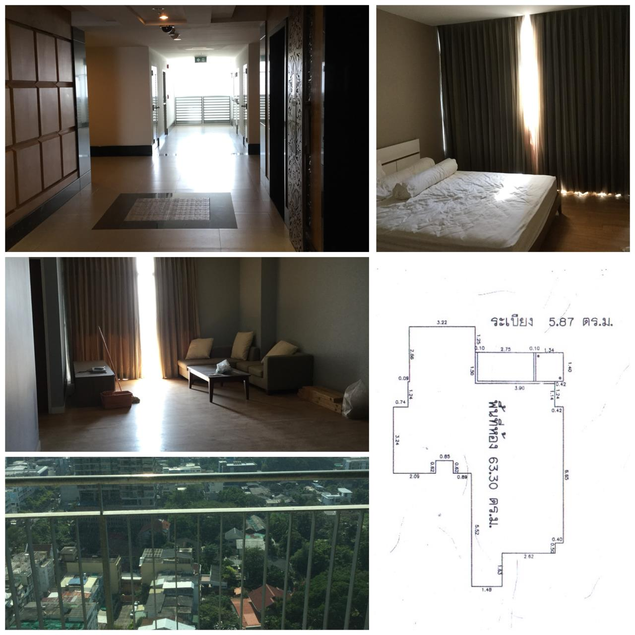 Quality Life Property Agency's S A L E !! [ URBANA SATHORN ] 1 BR 69.17 SQ.M. HIGH FLOOR 5