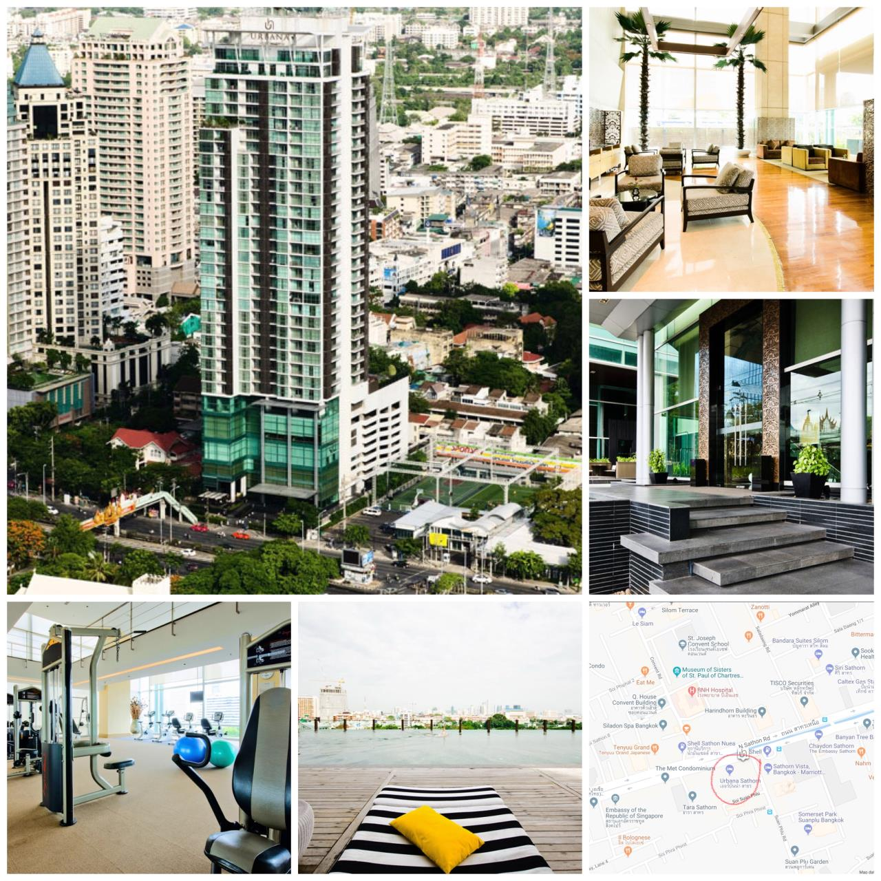 Quality Life Property Agency's S A L E !! [ URBANA SATHORN ] 1 BR 69.17 SQ.M. HIGH FLOOR 4