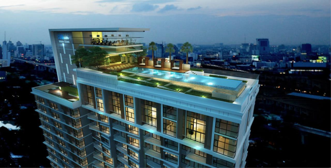 Quality Life Property Agency's S A L E !! [ Centric Sathorn - Saint Louis ] 1 BR 34.08 SQ.M. High Floor 2