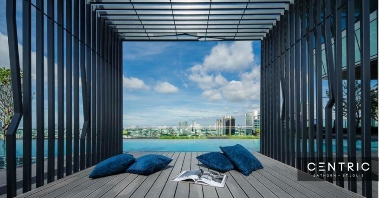Quality Life Property Agency's S A L E !! [ Centric Sathorn - Saint Louis ] 1 BR 34.08 SQ.M. High Floor 3