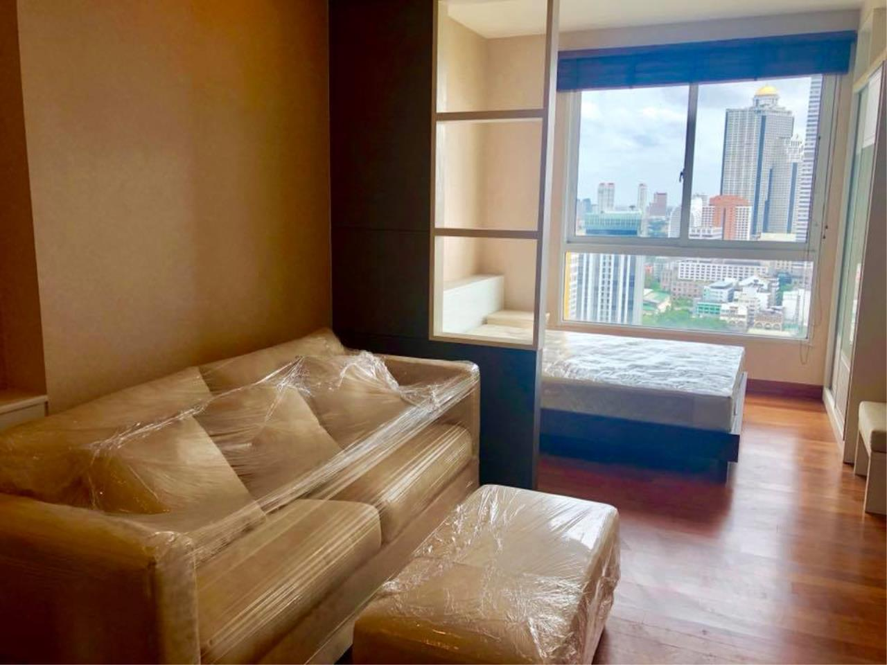 Quality Life Property Agency's S A L E !! || IVY SATHORN 10|| 1BR 33.64 Sq.m. NEW UNIT!! 1