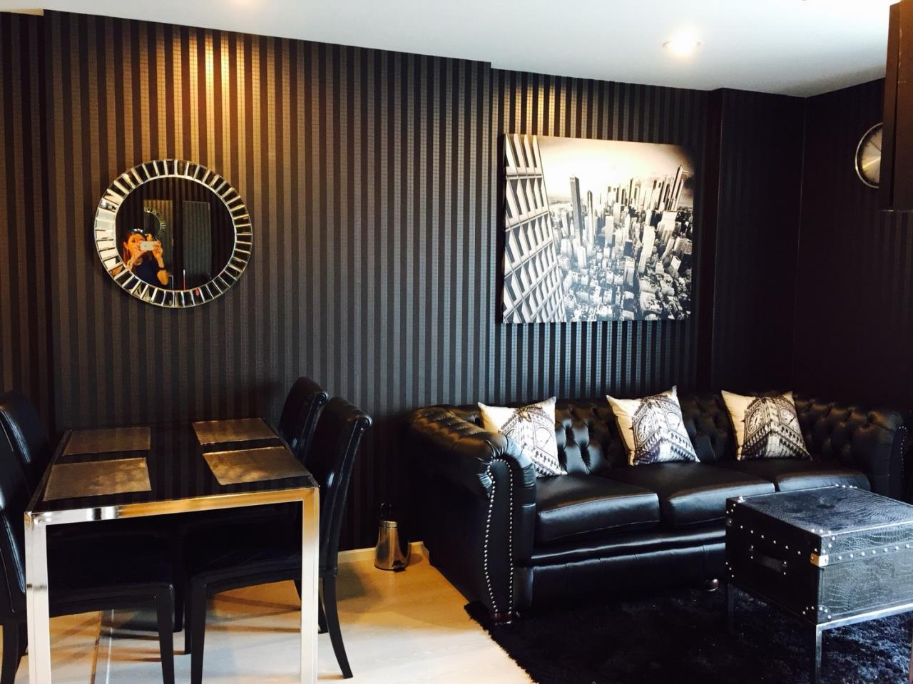 Quality Life Property Agency's S A L E WITH TENANT < Rhythm Sathorn - Narathiwas > 2BR 60.7 SQ.M. NICE DECORATION 1